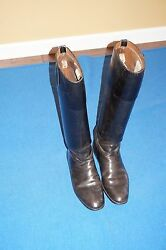 RARE! RIDING Military BOOTS by Boot Makers to the Royal Family London British