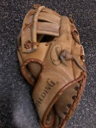Spalding Leather Baseball Glove Fielders Choice 42 3955 For Right Handed Throw $10.00