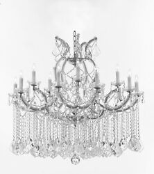 Maria Theresa Chandelier Crystal Lighting for Dining Living Room H 42quot; W 37quot; $697.00