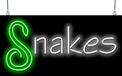 Snakes Neon Sign  Jantec  32