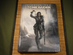 Rise of the Tomb Raider Prima Collector's Edition Strategy Guide w Keychain NEW