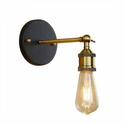 Vintage Iron Wall Lamps Loft Industrial Wall Lights Living Room Home Fixtures $14.73