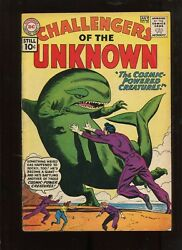 CHALLENGERS OF THE UNKNOWN #20 (3.0)THE COSMIC POWERED CREATURES!
