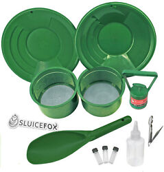 Sluice Fox 11 Piece Gold Panning Supplies Kit | Classifier Sifting Pan Set $42.95