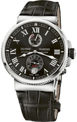Ulysse Nardin Marine Chronometer Manufacture 43mm Men's Dress Watch 1183-12642
