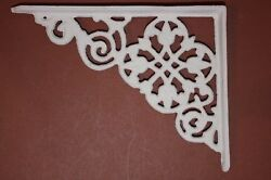 She Shed Garden Cottage Shelf Decor Cast Iron Shelf Brackets 7 12