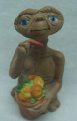1984 Vintage E.T. The Extra-Terrestrial w Flower Pot