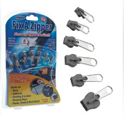 6Pcsset Fix A Zipper Clothes Zip Slider Rescue Instant Repair Kit Replacement