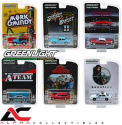 GREENLIGHT 44830-SET OF 6 1:64 HOLLYWOOD SERIES 23 CHRISTINE A TEAM