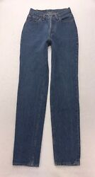 N4 Vtg USA Levis 501 For Women Straight High Rise Mom Jeans sz 3 Measure 23x31 $62.99