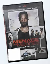 MENACE and Murder DVD Three Thillers from the creator of Prime Suspect