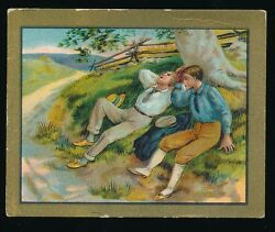 1910 T57 Turkish Trophies FABLE SERIES (1-50) -The Travelers & The Plane Tree