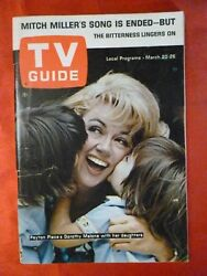 Virginia March20 TV GUIDE 1965 PEYTON PLACE Dorothy Malone Bancroft Charles Lane