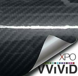 VVivid Vinyl Tech Art Gloss Carbon Series Architectural (Sample 3.5in x 5in)