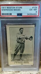 1917 H801-8 Boston Store #104 Sherwood Magee PSA 6 Highest Pop 2