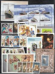 Ghana Mint NH modern sets and S S Catalog Value $63.20 2R0290 $26.00
