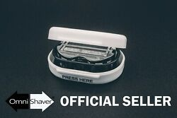 Premium OmniShaver with Travel Case FAST FREE USA SHIP! SELECT A COLOR!