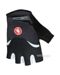 NEW Castelli ARENBERG GEL Summer Cycling Gloves BLACK WHITE $49.95