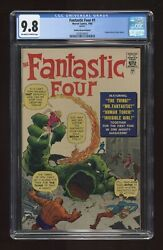 Fantastic Four (1st Series) Golden Record Reprint 1COMIC 1966 CGC 9.8 0338258001