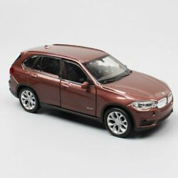 BMW X5 1:36 Scale Welly SUV Vehicle Diecast Alloy Metal Model Mini Car Brown Toy