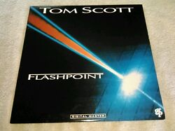 Flashpoint LP by Tom Scott Vinyl 2003 GRP NM Digital Master Cool Sensation