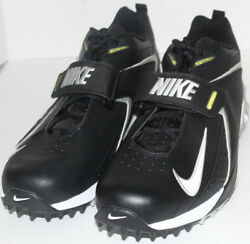 MEN SHOES NIKE CLEATS ZOOM AIR Size 16M BLACK NEW $57.95