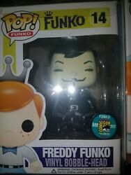 FREDDY FUNKO Pop V for Vendetta SDCC 2012 exclusive Fundays 96 Pieces mint box
