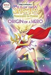 Origin of a Hero (she-ra Chapter Book #1) by Tracey West (English) Paperback Boo