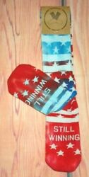 MENS FOR YOUR FEET STARS TIE DYE CREW SOCKS ONE SIZE $9.95