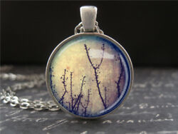Twilight Branches Tree Necklace Pendant Birthday Gifts For Women Girlfriend Girl