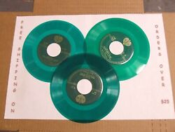 LOT: 3 GREEN COLORED 7