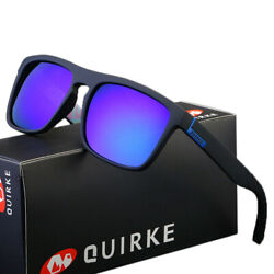 QUIRKE 7 Colors Polarized Mens Sunglasses Outdoor Sports Fishing Vintage Shades $9.49