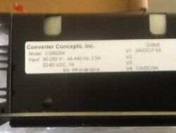 Bristol Babcock-Converter Concepts Inc CS89294 Power Supply New in Box