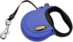 Power Walker blue DOG RETRACTABLE LEASH 12 ft. XS X Small for dogs up to 16 lbs. $22.99