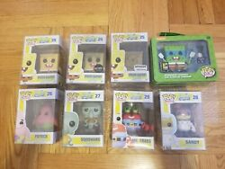 Funko Pop Spongebob Squarepants Lot
