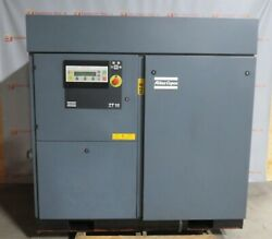 Atlas Copco ZT 18 Elektronikon Rotary Screw Air Compressor 125 PSIG 27 HP $5,000.00