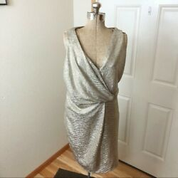 NWT Charming Charming Gold Formal Party Dress $28.00