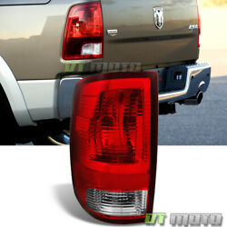 2009-2018 Dodge Ram 1500 2500 Tail Light Lamp wBulbs Replacement LH Driver Side