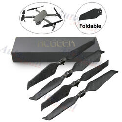 4pcs 8743 Low-Noise Carbon Fiber Propellers Prop Blade For DJI Mavic 2 Pro/Zoom $14.99