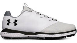 Under Armour Fade RST Golf Shoes Men's White Waterproof New - Choose Size!