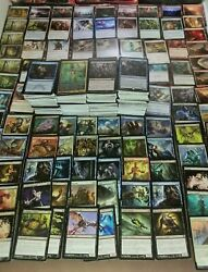 Magic the Gathering Card 1000+ Collection w 20 Rares 10 Foils 2 Storage