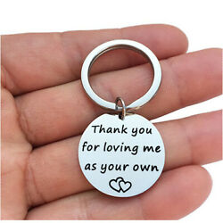 Thank You For Loving Me As Your Own Mother Father Gift Step Mom Dad Wedding Stai