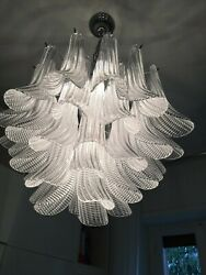 Modern Chandelier Murano Glass