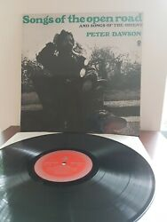 PETER DAWSON Songs of the Open Road Album LP 12