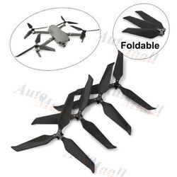 4pc 8743 Low-Noise Carbon Fiber 3-Blade Propellers Prop For DJI Mavic 2 Pro/Zoom $21.99