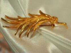 Vintage 1960's Spitinx Signed Gold Tone Modern Very Nice Brooch  835my9 $19.99