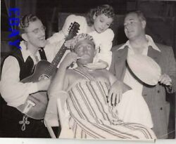 Bing Crosby Lucille Ball Kay Kyser director David Butler VINTAGE Photo candid