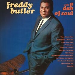 Freddy Butler - With A Dab Of Soul [New Vinyl]