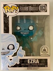 RARE DISNEY PARKS EZRA ERROR ON THE BACK OF BOX FUNKO POP HAUNTED MANSION EXCL.