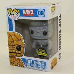 Funko POP! Heroes Figure - Marvel - THE THING (Black & White) #09 (Excl) *NM BOX